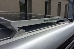 Solaranlage Basis Seitenansicht