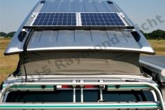 Solaranlage Basis auf Aufstelldach