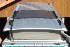 Premium Light 140 Solaranlage auf eloxiertem Aluminiumblech