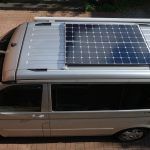 290 Wp Premium solar system for campers on VW California