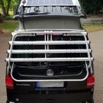 Flat solar system for VW T5 / T6