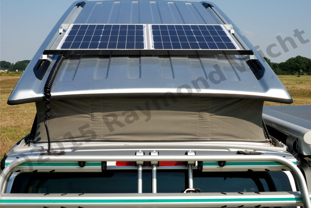 Solar system on VW T5 California