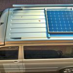 Solar system on VW T5 / T6 roof