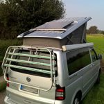 Solar system for VW T5 / T6 California