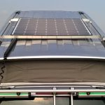 Solar system for campers on VW T5 / T6 California