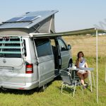 VW T5 California with Basis solar system for campers